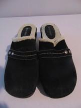 Nine West Black Loafer Minimalist Mules/Slides Sz.8M - €13,05 EUR
