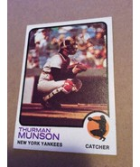 1973 Topps Thurman Munson New York Yankees #142 Awesome Condition PSA Re... - $27.95