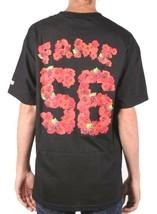 Hall of Fame Mens Black Rose Bowl Short Sleeve T-Shirt 56 Roses Football NWT image 2