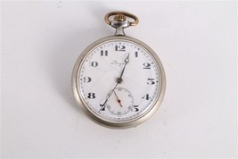 Antique Vintage Old Swiss Made Longines Open Face Mens Pocket Watch. - $169.29