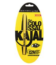 1PACK MAYBELLINE NEW YORK COLOSSAL KAJAL EYE LINER KOHL BLACK SMUDGE PRO... - $9.62