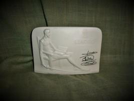 LLADRO Don Quixote White Porcelain Vintage Seated Man Sculpture Advertis... - $18.99