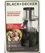 Black + Decker - FP2500B - PowerPro Wide-Mouth 10-Cup Food Processor - B... - $79.15