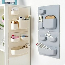 Home Storage Wall Suction Cup Plastic Storage Rack Cosmetic Organizer - $18.70+