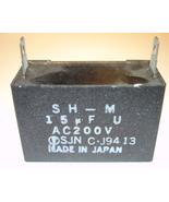 Motor Start Capacitor 15uF 200V - $10.00