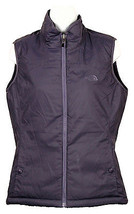 The North Face Women's Mossbud Insulated Reversible Vest Purple Size M - $59.39