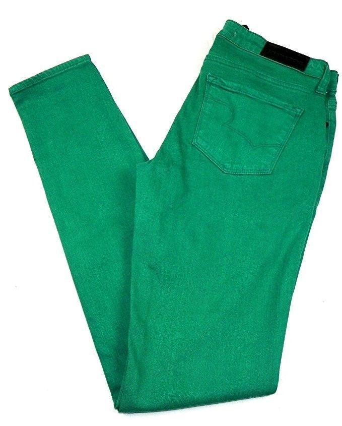 Big Star 1974 Women's Jeans ALEX Skinny Pants Green (Irregular)