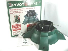 Pivot Point Christmas Tree Stand EZ-Up 706-449 One Person Setup 1 Gal Re... - $29.99