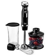 4-in-1 Immersion Hand Blender grinding pureeing... - $57.50