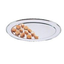 Oval Serving Tray 24in Commercial Kitchen Cafe Bar Pub Canteen Hotel Diner - $43.70