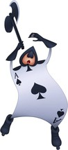 CARD SOLDIER Spades Alice in Wonderland Disney Decal Removable WALL STICKER - $14.99 - $29.99