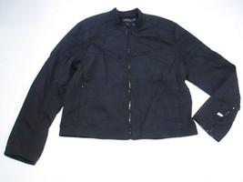 Polo Ralph Lauren Moto Jacket, Black, Sz. XXLarge - $245.03