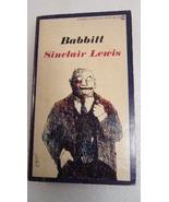 Babbitt 1961 Sinclair Lewis, Signet Classic - $3.00