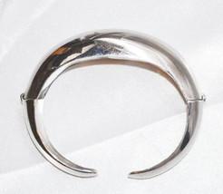 Signed Coro Pegasus Vintage Double Hinged Cuff Bracelet - $22.00