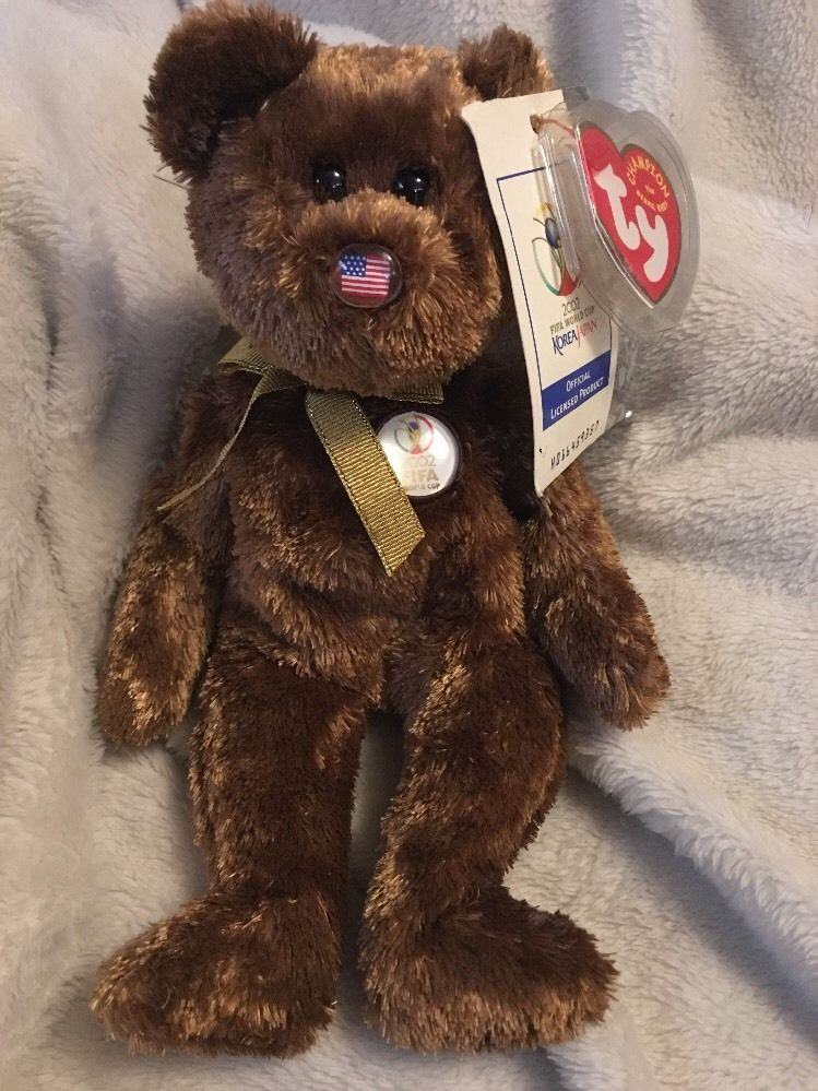 b90acad4025 Ty Beanie Babies FIFA World Cup Champion and 39 similar items. S l1600