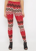 Women's NWT Dusty Pink Chevron Soft Brushed Leg... - $14.02