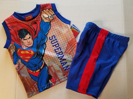 Superman Toddler Boys 2 Piece Short  Set Size 2T NWT - $13.59