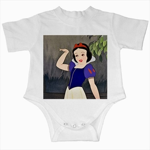 Primary image for Snow white princess infants baby creeper bodysuit romper newborn jumpsuit
