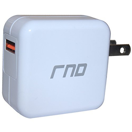 RND QC3.0 Quick Charge compatible USB AC / Wall Charger (QC2.0 Compatible) wi... image 2