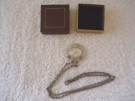 "Vintage Caravelle Necklace Watch "" BEAUTIFUL ITEM "" - $14.01"