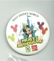 5 Different Walt Disney World Pinback Buttons Swan HOTEL/Mickey's Birthdayland + - $11.00
