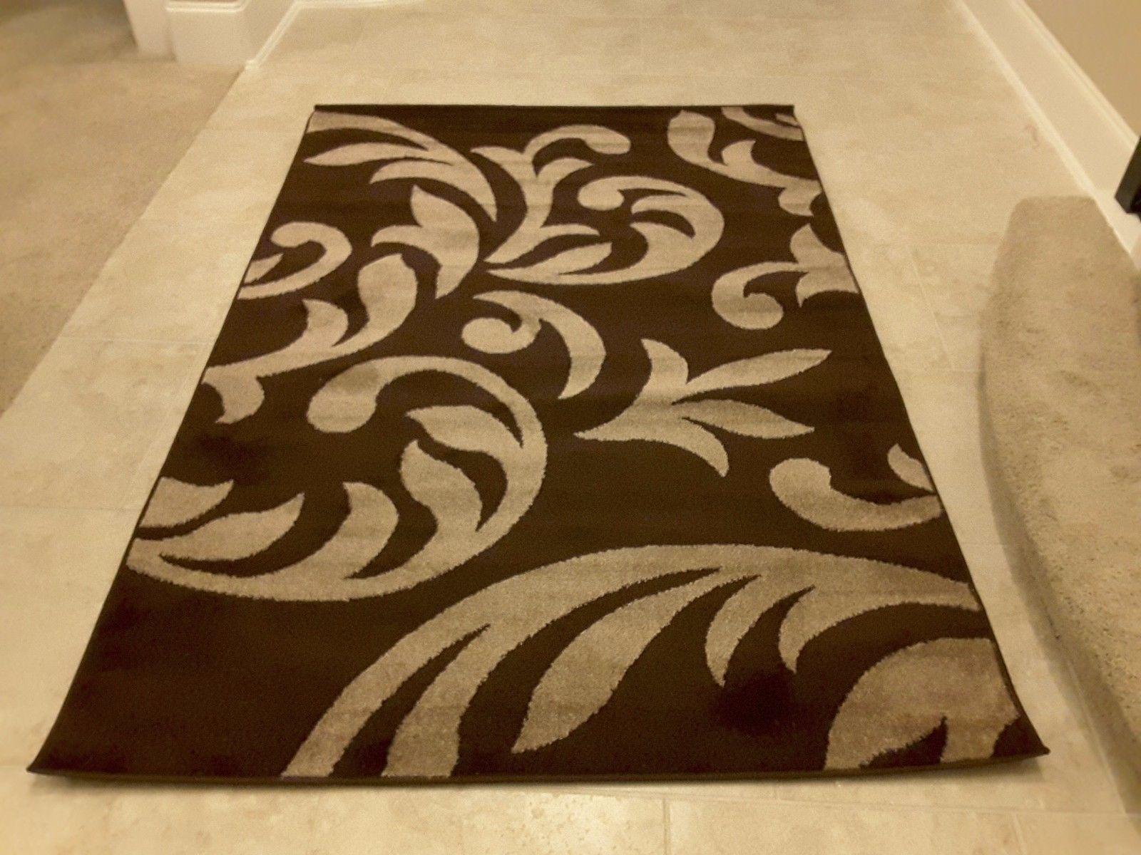 7001 beautiful contemporary modern area rug carpet 5x7 for Area rugs contemporary modern