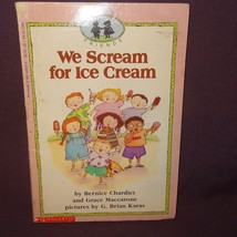 We Scream for Ice Cream School Friends Book 1992 Scholastic - $4.34