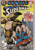 Annual Superman #1 (To Tame A Titan, 1) [Comic] John Byrne - $1.95