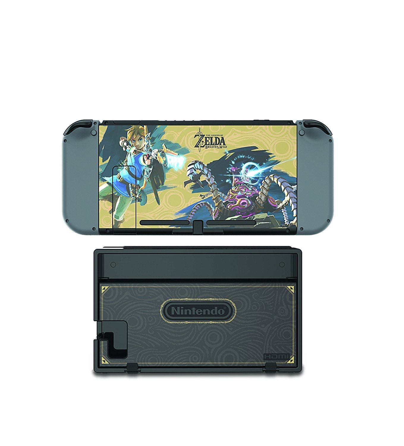 The Legend of Zelda Breath of The Wild Collector's Edition Screen Protector Skin