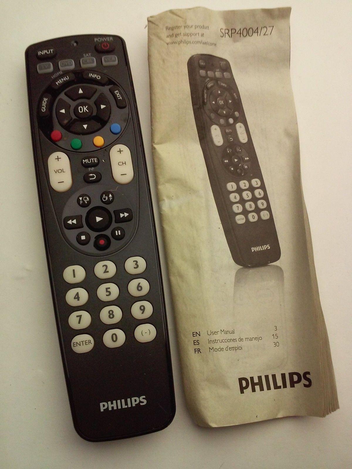 philips srp4004 27 remote control and 50 similar items rh bonanza com  philips remote srp4004/27 manual