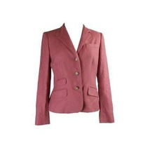 Ralph Lauren Linen-Silk 3-Button Jacket, Faded Rose, 2 - $168.29