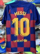 Nike Barcelona MESSI 10 Home Jersey 19/20 Size Medium. Stadium Quality - $123.75