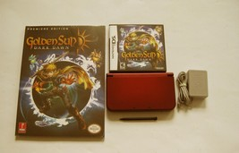 Red Nintendo New 3ds xl w Golden Sun  & More!!! - $239.99