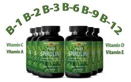 Eye Health SPIRULINA 500 mg Plant-Based Dietary Supplement (6 Bottles 36... - $49.51