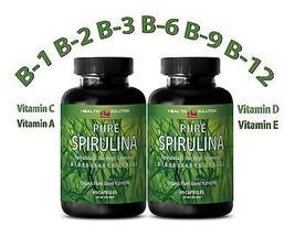 Eye Health SPIRULINA 500 mg Plant-Based Dietary Supplement (2 Bottles 12... - $21.46