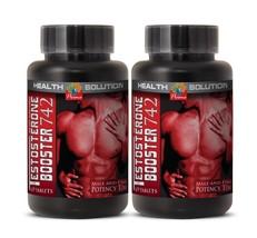 Testosterone Pills - Testosterone-boosting Formula 742 (2 Bottles) New - $22.40