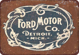 Vintage Style Ford Motor Company Reproduction M... - $12.34