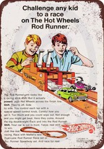 1970 Hot Wheels Rod Runner Vintage Look Reprodu... - $12.34