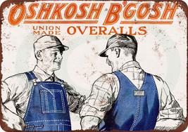 1925 Oshkosh B'Gosh Union Made Overalls Vintage... - $12.34