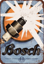 1926 Bosch Spark Plugs vintage reproduction met... - $12.34