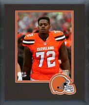 Shon Coleman Cleveland Browns 2016 Action -11 x 14 team Logo Matted/Framed Photo - $42.95