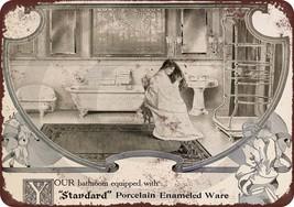 1907 Standard Porcelain Bath Fixtures Vintage L... - $12.34