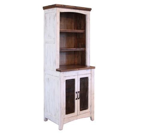 White Sliding Barn Door Eliza Entertainment Center Wall Unit
