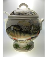 Portmeirion Compleat Angler Soup Tureen With Ladle - $673.38