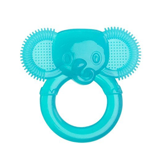 Primary image for Bright Starts First Bites Stage Teether,Blue Elephant