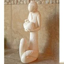 Hallmark Hand Carved Mother and Child Stone Sculpture Collectibles Gift ... - $32.50