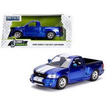1999 Ford F-150 SVT Lightning Pickup Truck Candy Blue  with White Stripe... - $31.82