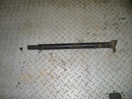 SUZUKI 1997 300 KING QUAD 4X4  FRONT DRIVE SHAFT  PART 27,555 - $20.00