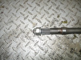 KAWASAKI 1997 BAYOU 300 2X4  LEFT REAR AXLE  PART 26,602 - $25.00