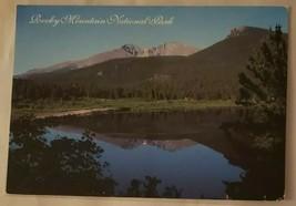 Postcard: Rocky Mountain National Park. Mount Meeker + Long Peak Lily Wa... - $4.41